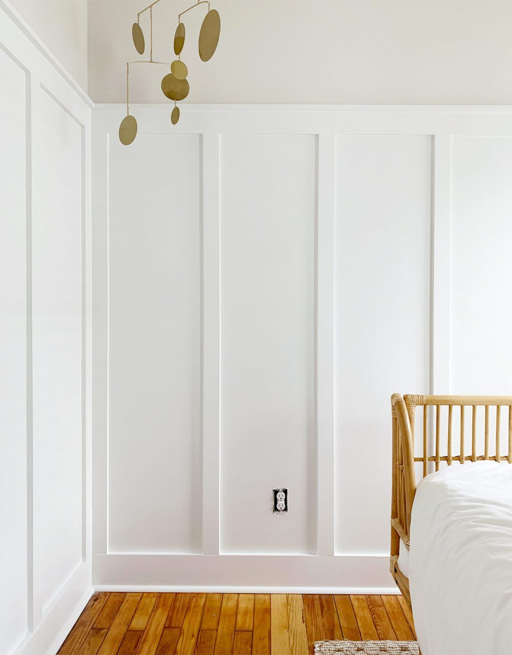 How To Hang Peel Stick Wallpaper On Video Home Young House Love Bedroom Wall