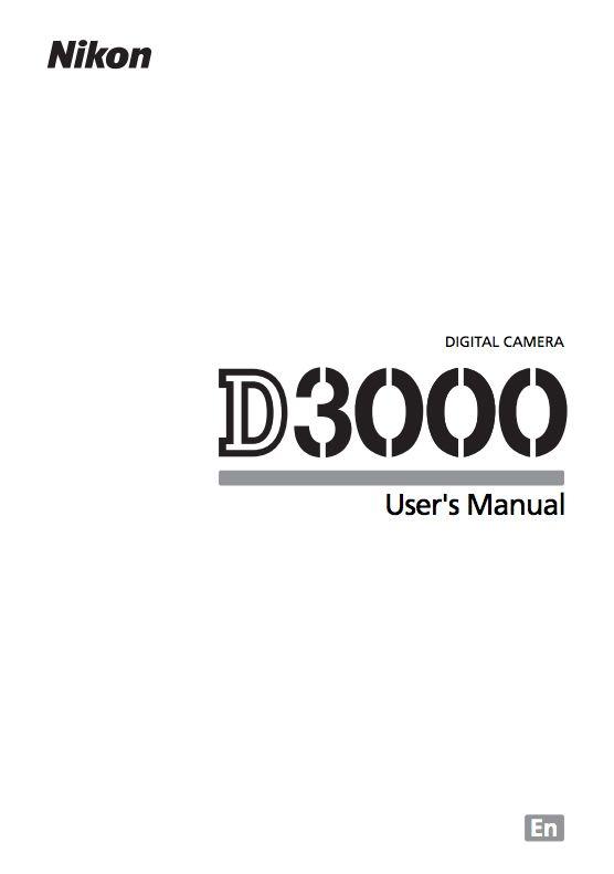 nikon d3000 user manual my camera pinterest nikon d3000 nikon rh pinterest com nikon d3300 user guide nikon d300 user guide