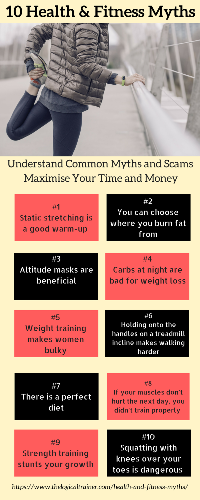 6 Health and Fitness Myths You Should Never Believe in