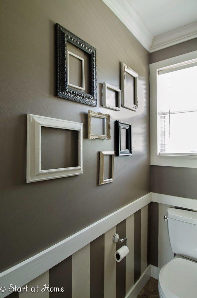 Decorar una pared con marcos vacíos | decoración | Pinterest ...