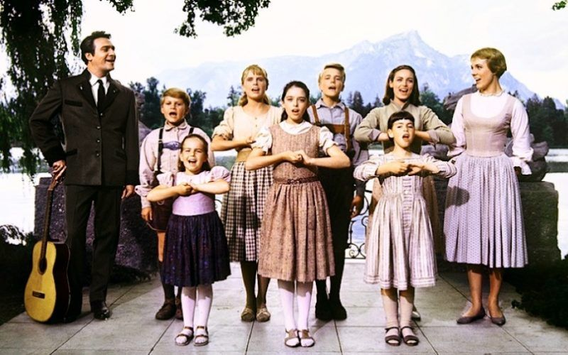 Image result for the von trapp family sound of music | Sound of music movie, Sound of music, Sound of music live