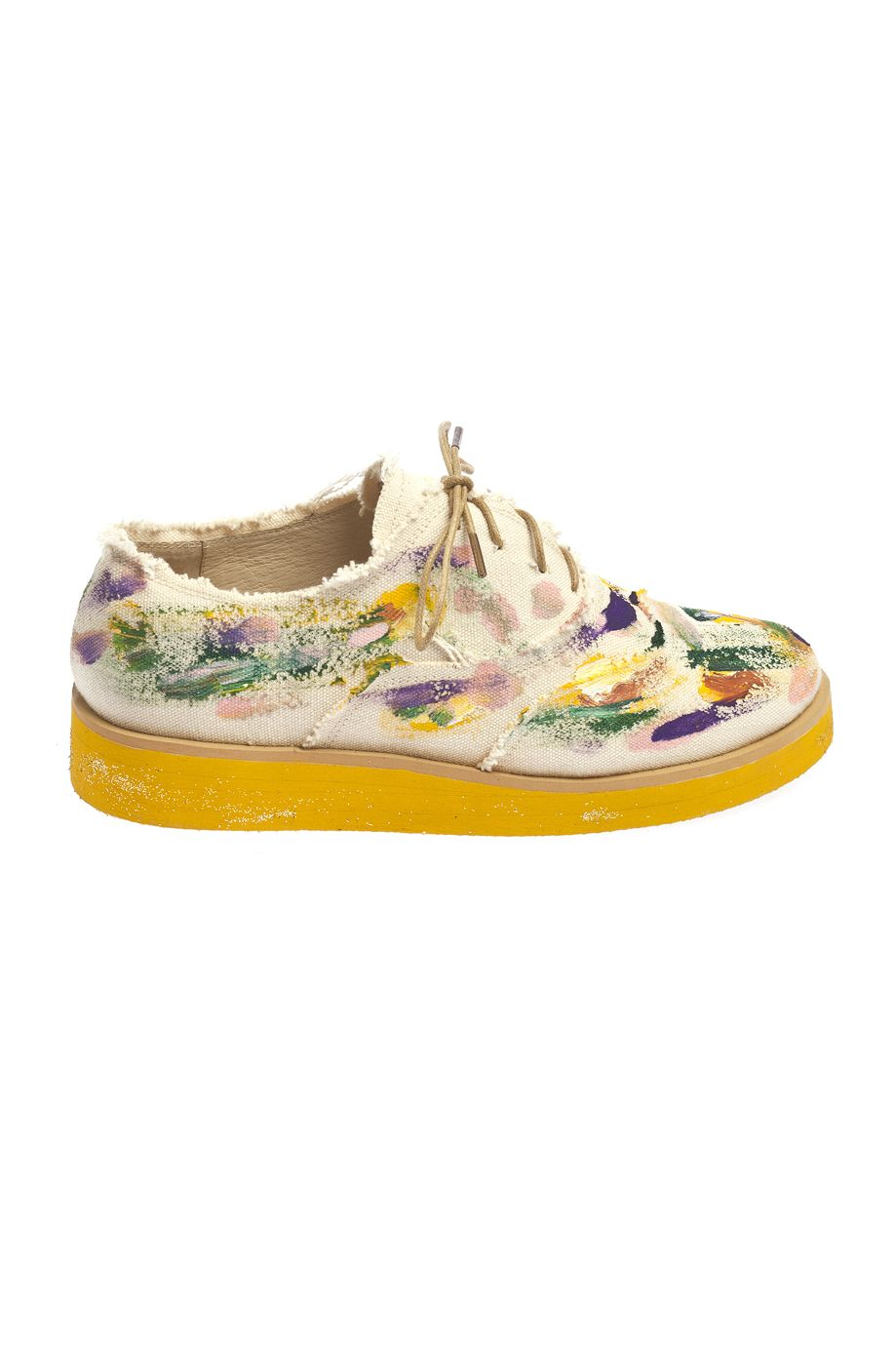Anouki gorgeous men style inspired painted shoes.