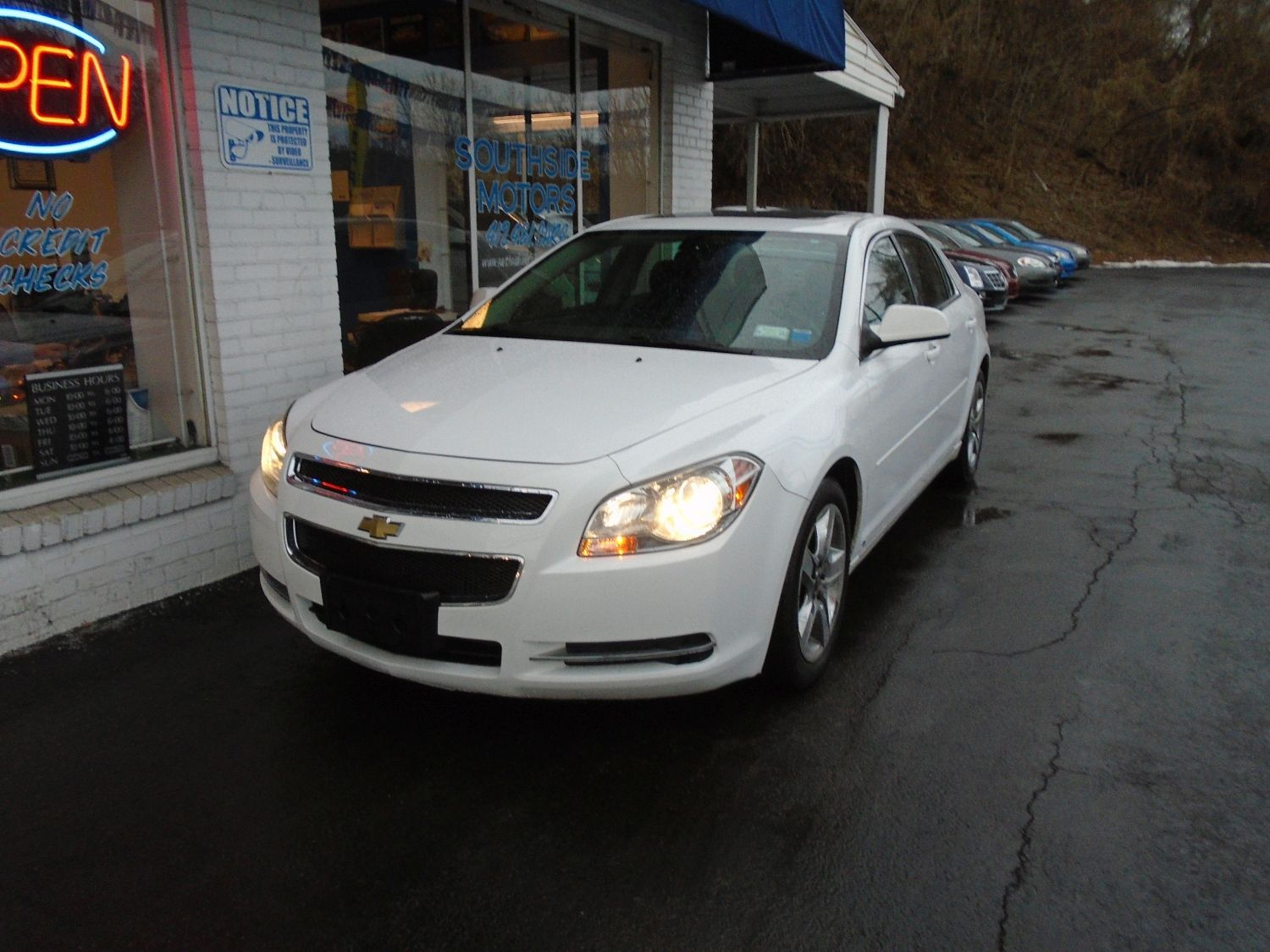 2009 Chevrolet Malibu Lt Xm Satellite And A Sunroof Malibu Lt