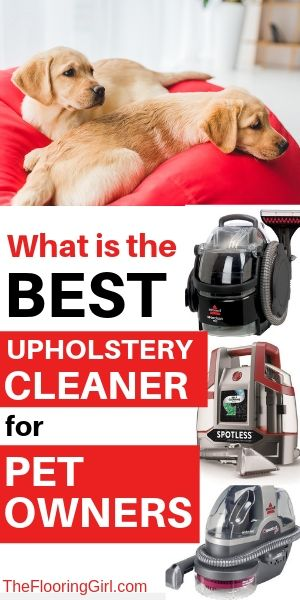 Best Upholstery Cleaner For Pet Owners 2020 Reviews With Images Upholstery Cleaner