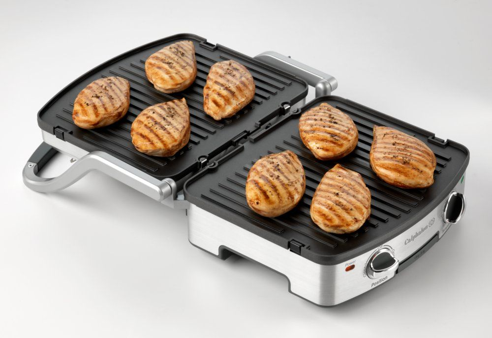 Calphalon 5 In 1 Removable Plate Grill Perfect For Grilling En