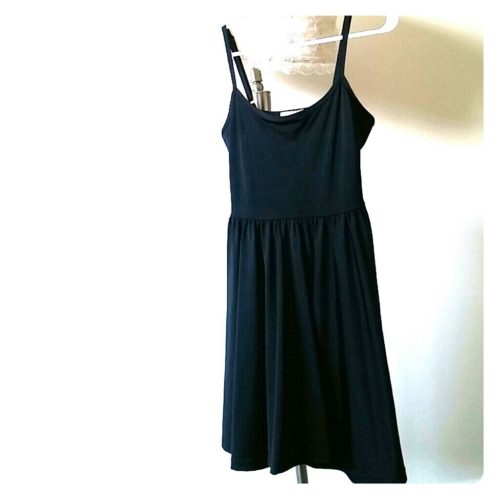 Simple stretch skater dress products