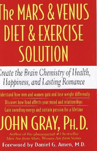 The Mars Venus Diet And Exercise Solution By John Gray Books