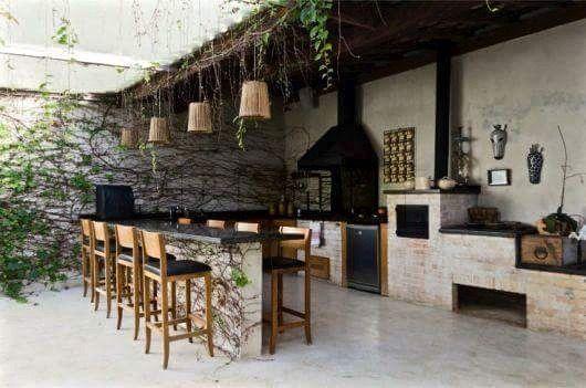 cocina exterior Glamping Pinterest Cocinas, Terrazas y Asador