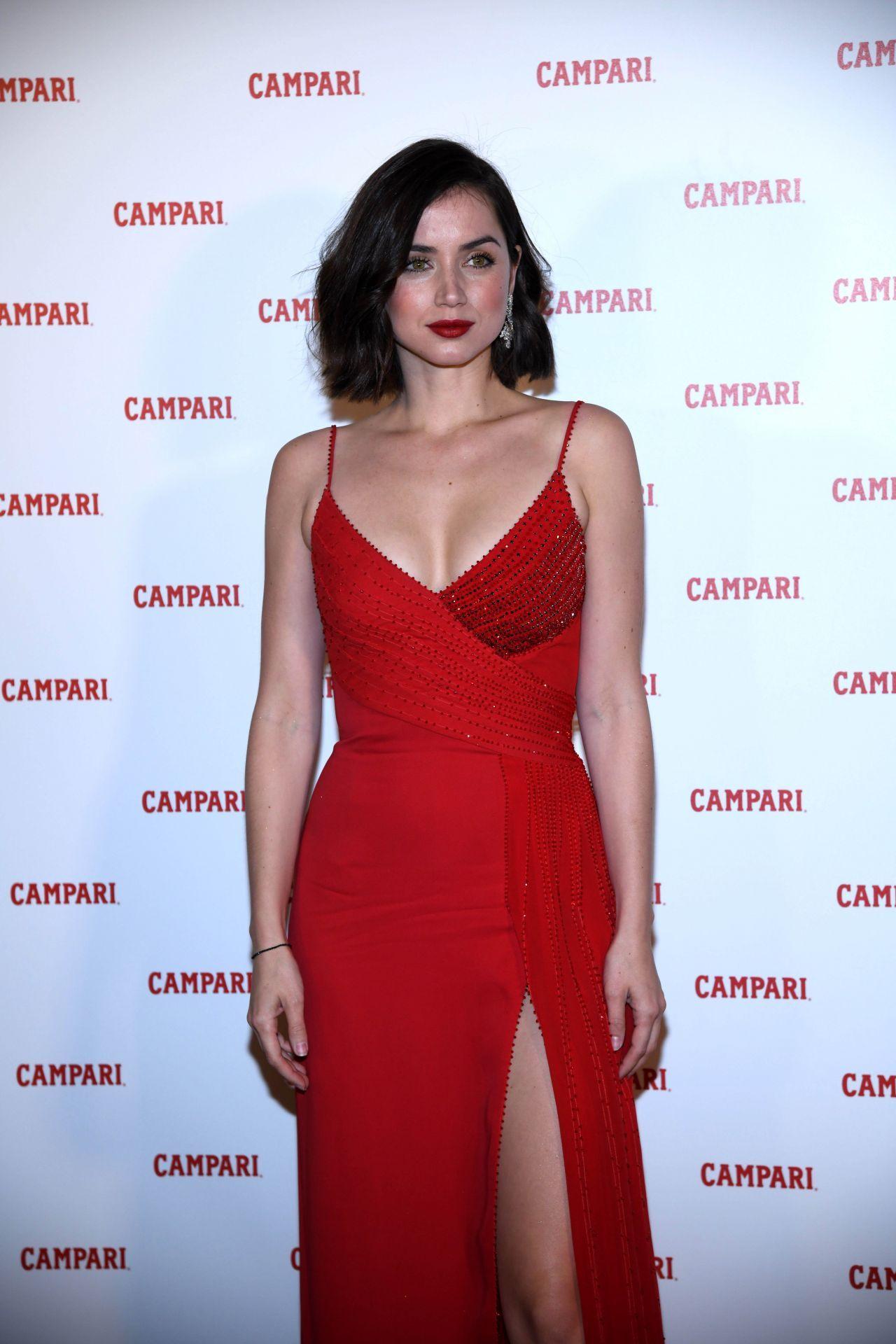 a8c7c6e2cac Ana de Armas at Campari Red Diaries 2019 Premiere Event in Milan ...
