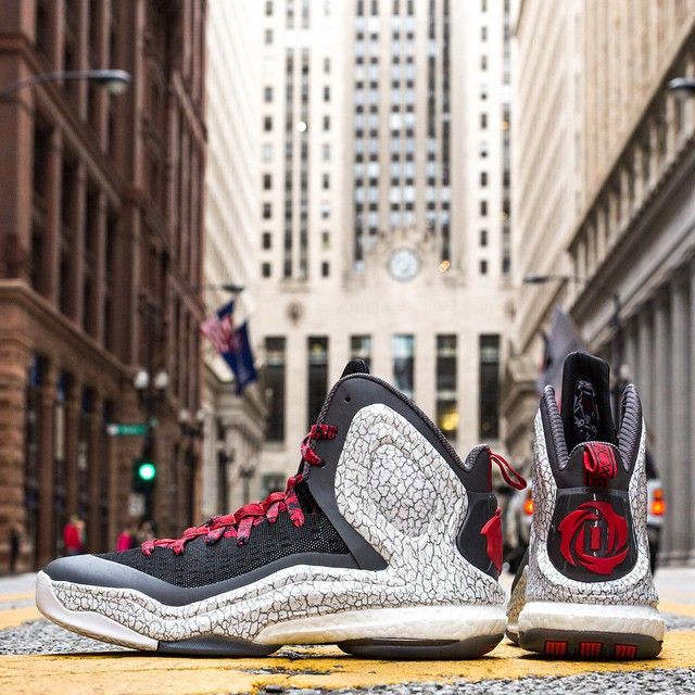 Chicago's finest. The new Windy City inspired adidas #DRose5 Boost is NOW AVAILABLE in stores and online! #approved
