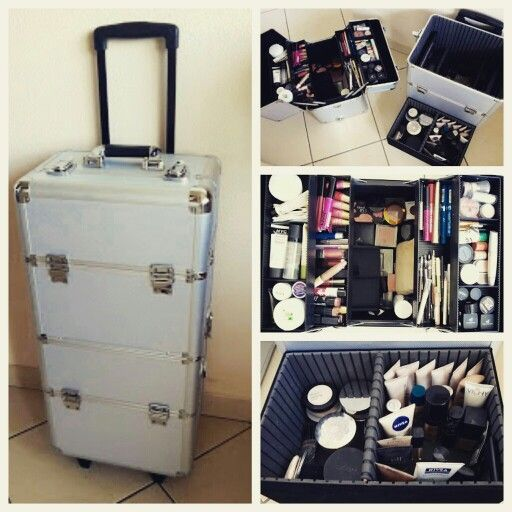 Oh My New Big Trolley Make Up Case Makeup Vanity Storage Makeup Case Vanity Storage