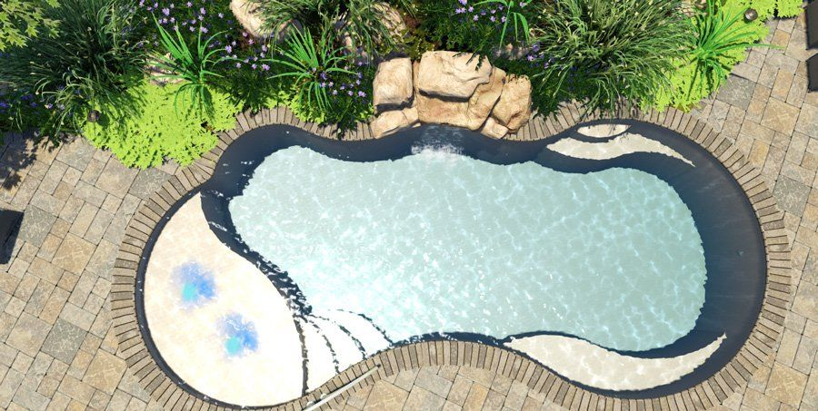 Pricing Calculator In 2020 Fiberglass Pools Small Pool Design Spa Pool