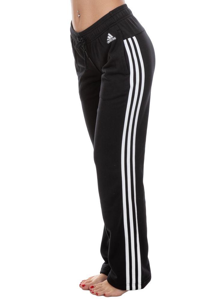 Stripes 3 Ebay sponsored Essential Pantalone Adidas Donna q8wYq
