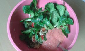 Veggie Bowl - Gemüse-Couscous und Salsa