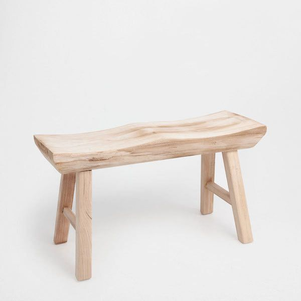 A Neutral Bench Furniture Small Wooden Bench Bench Furniture