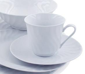 Imperial White Teacups Case of 24 Inexpensive Porcelain Tea Cups and ...