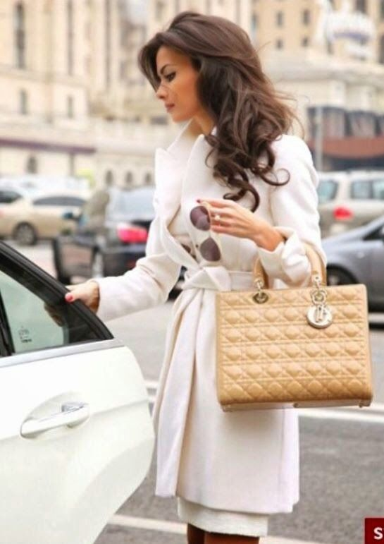 Image result for images of woman with christian dior handbag
