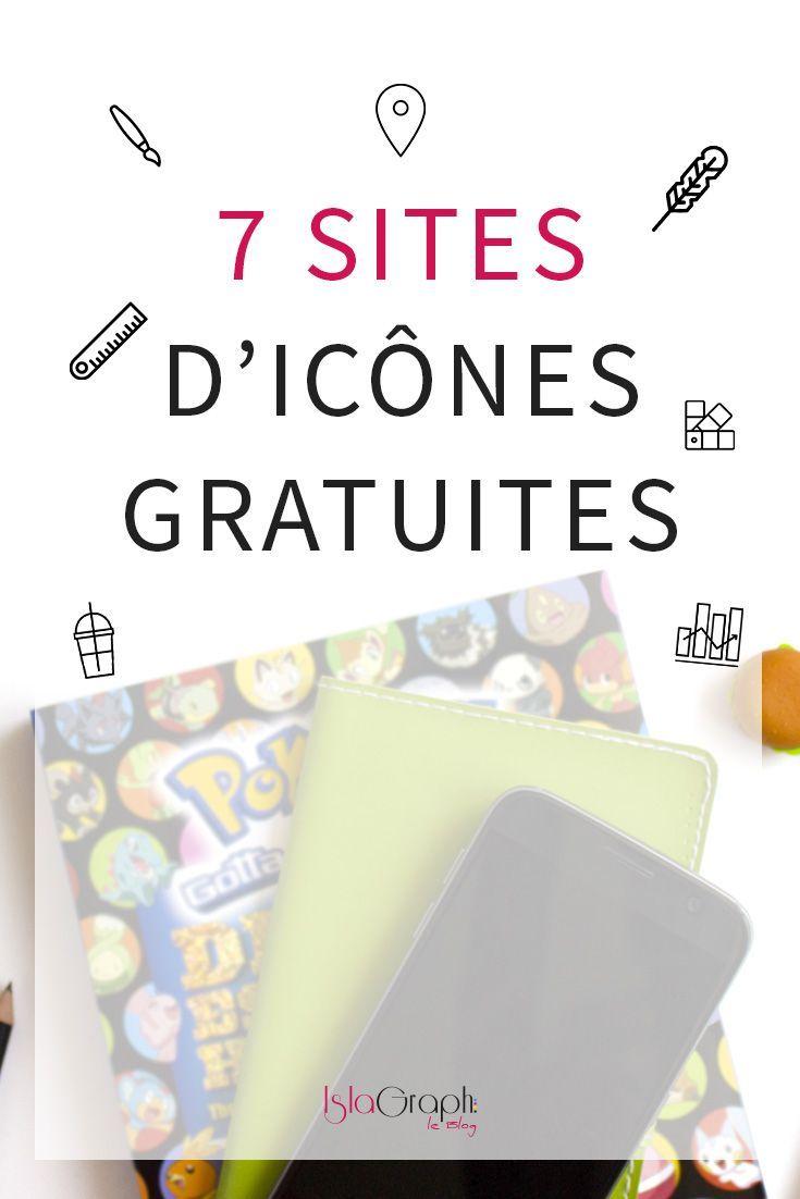 Bon Plan 7 Sites d'Icônes Gratuites Icone gratuit