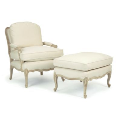 Gentil Bergere Chair And Ottoman