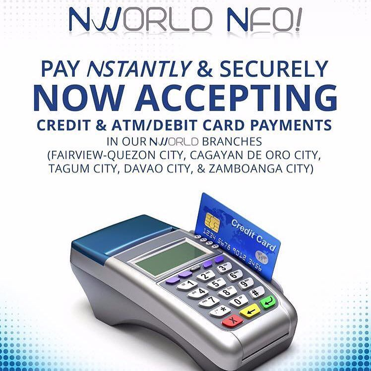 No need to bring big amount of cash when buying your favorite #Nlighten and #Nhance products because more and more #NWorld branches are being equipped with credit card  and debit card facility which even includes the just about to open #NWorldFairview branch.  Have a lovely day ahead #Ntrepreneurs  Be a part of Nworld Program! JOIN NOW AND BE PART OF OUR DEPENDABLE STRATEGIC and RESULT ORIENTED TEAM IN ALPHANETWORLD CORP. . BE WITH ALPHA TEAM NOW!  Company Website: http://ift.tt/1YCsApn  The…