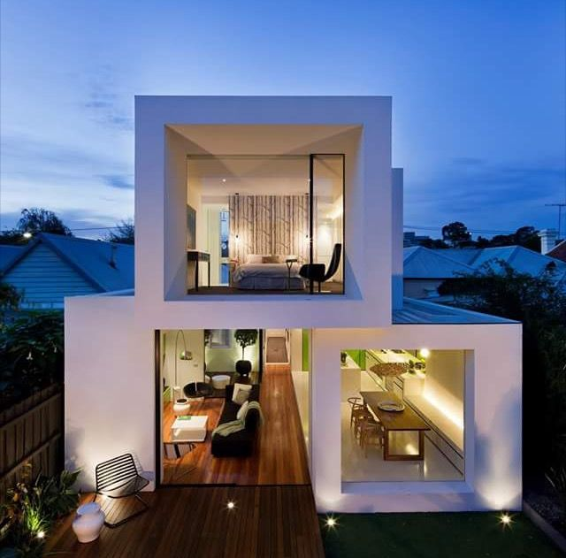Shakin  stevens residence is  compact double fronted victorian workers cottage in richmond victoria designed by matt gibson architecture design photo also pin young soo on pinterest guest houses condos rh