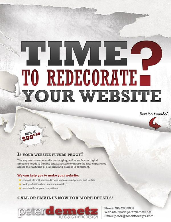 web design flyer - Google Search | flyers | Pinterest