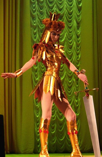 Sailor Galaxia - This is my first time seeing Galaxia cosplay that