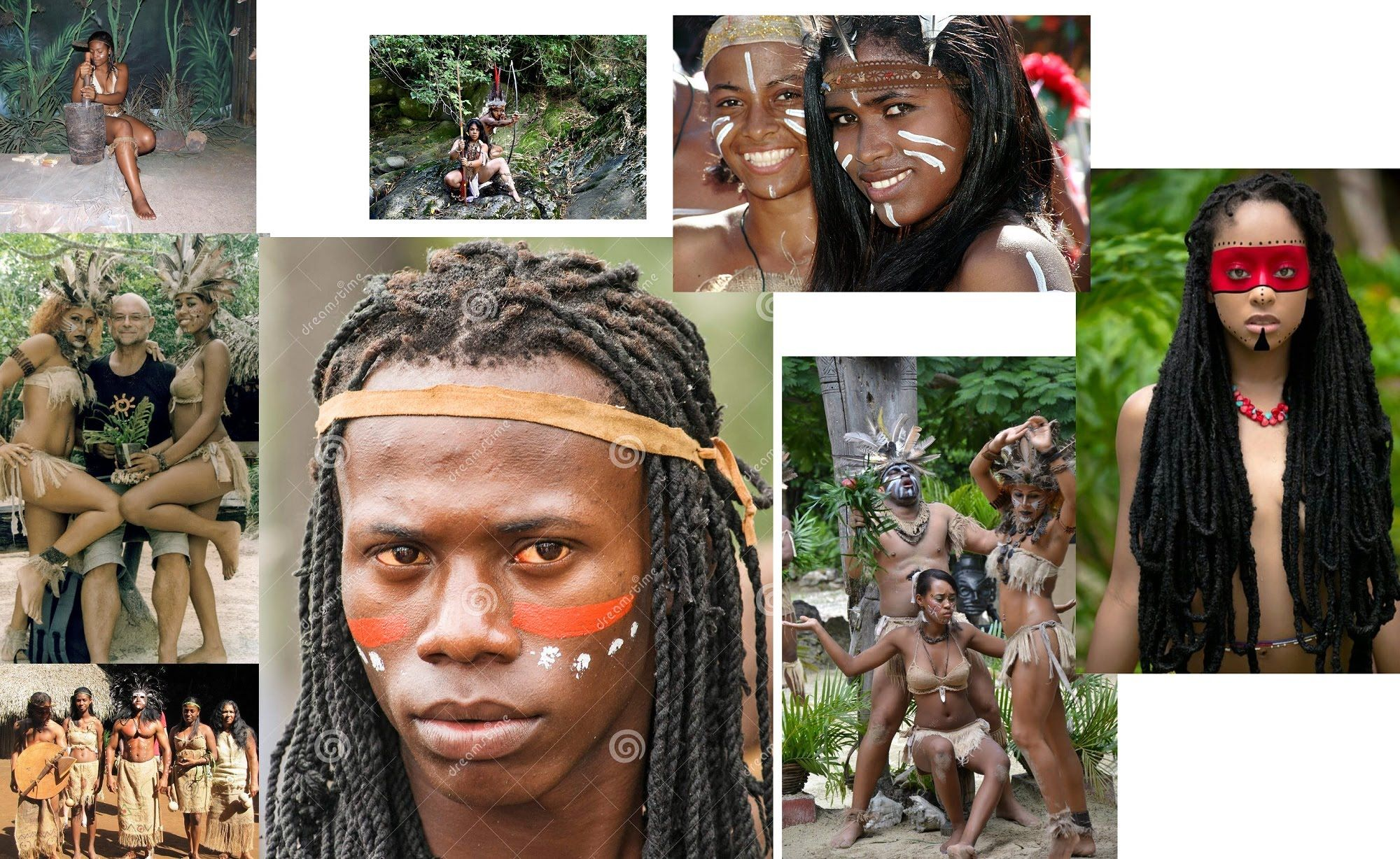 The Black Tribes of the Caribbean | Black Taino Roots of ...
