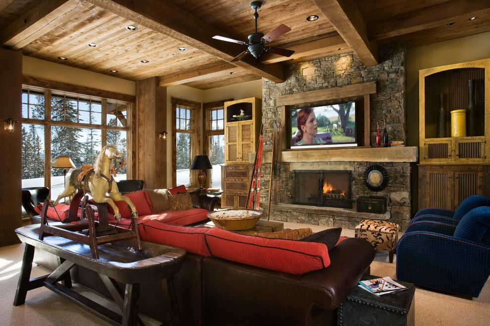 cozy lodge interior the beauty and comfort of lodge style