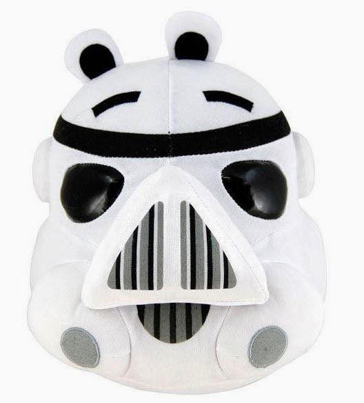 Peluche Angry Birds Star Wars Cerdo Stormtrooper   Peluches ...