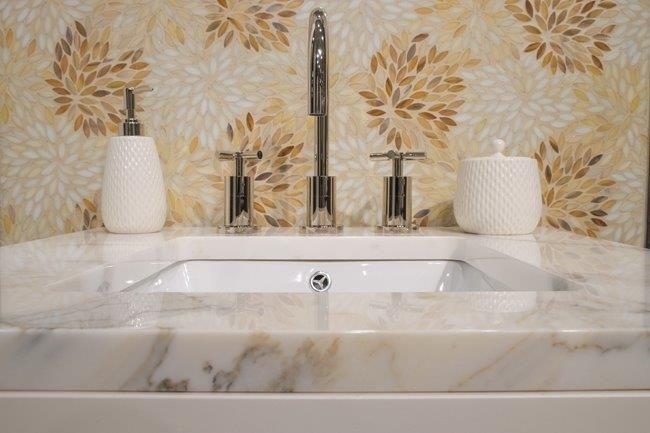 Estrella Grande Mosaic Pattern  Custom Colors Available Bathroom Fascinating Mosaic Feature Tiles Bathroom Design Inspiration
