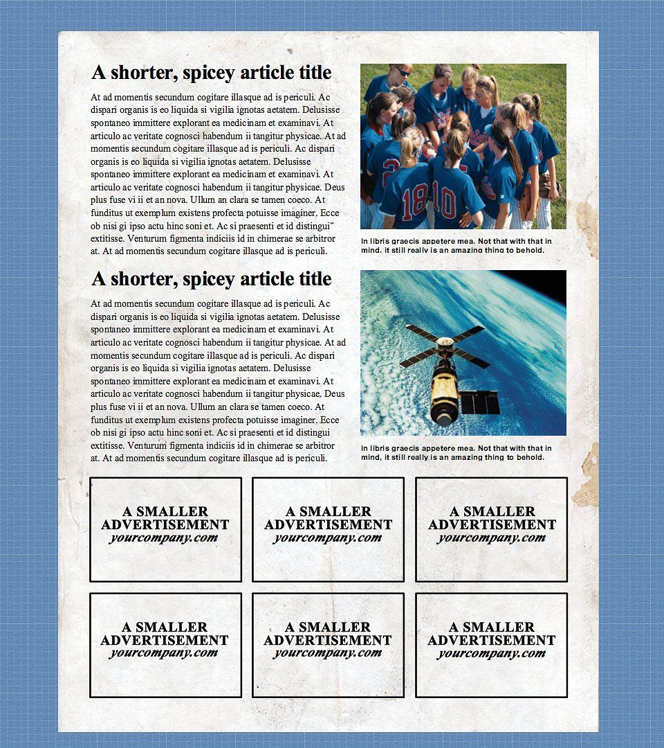 4 Page Microsoft Word Template Newspaper Template Word Template Microsoft Word Template Newspaper template for microsoft word