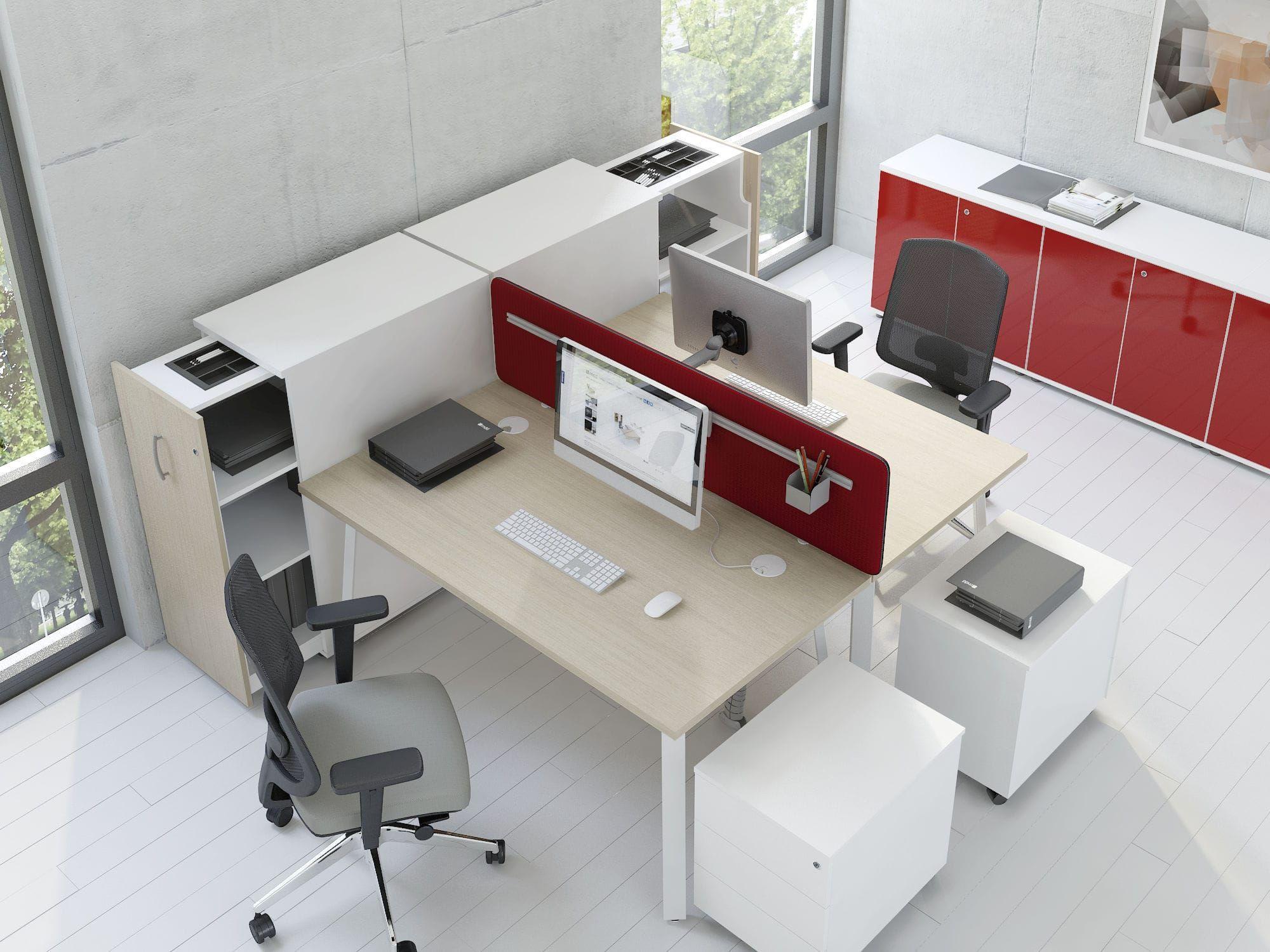 Banconi Per Ufficio : Divisorio per ufficio da bancone in tessuto insonorizzato