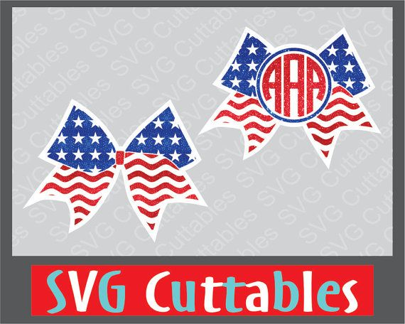 Cheer Bow Svg Flag Cheer Bow Svg Dxf Eps Bow Monogram Etsy Monogram Frame Monogram Cheer Bows