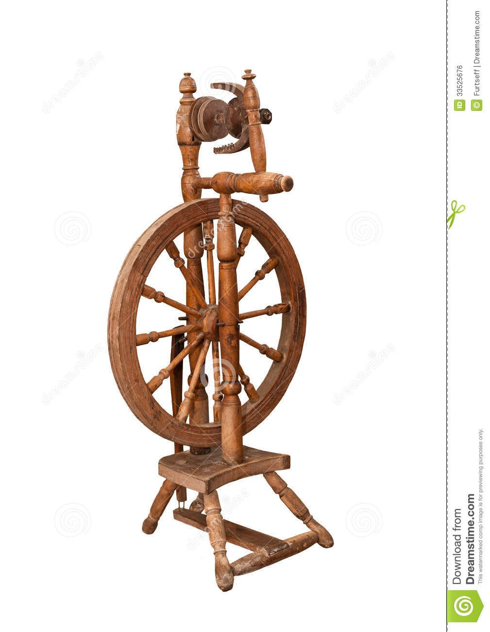 Anatomy of a Spinning Wheel | Antique Spinning Wheel Related ...