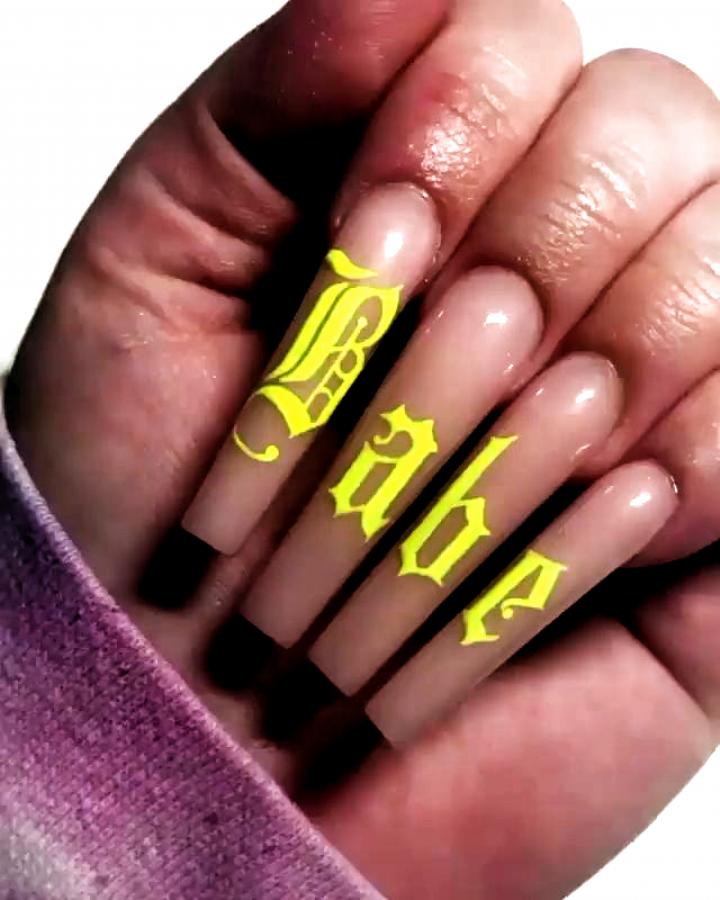 Nails Design Nails Design Drip Nails Long Acrylic Nails Bad Nails