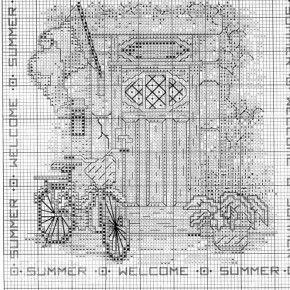 Схема вышивки Four Seasons Doors 3 из 4