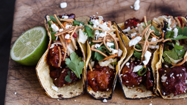Forget ground beef and the crunchy corn shell — these tacos are anything but ordinary