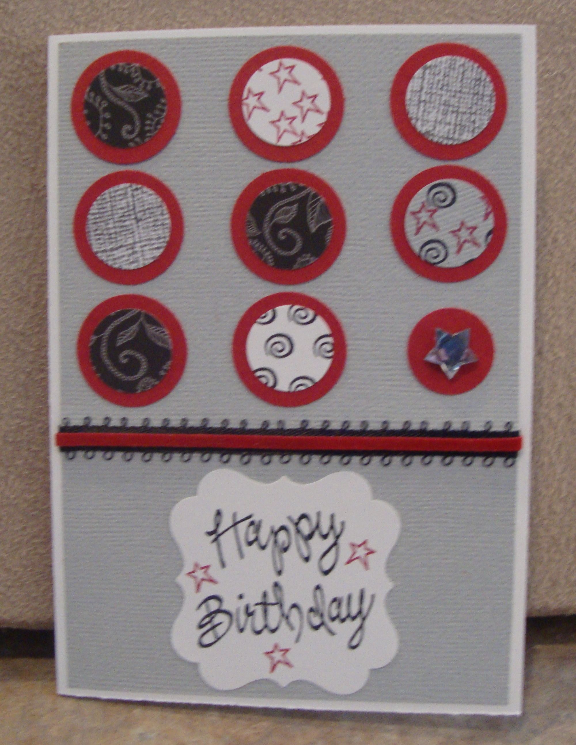 Mens birthday card homemade cards by janie cox pinterest mens