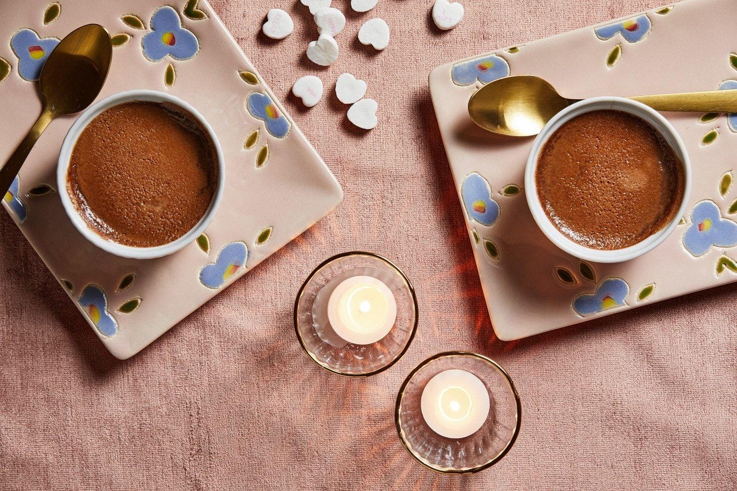 Chocolate-Espresso Pots De Creme