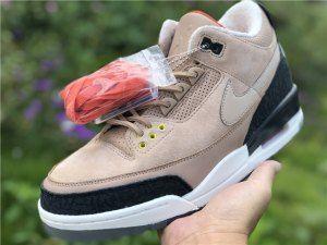 06f465a876d7fc Mens Air Jordan 3 JTH Bio Beige AV6683-200 Boy Basketball Shoes ...