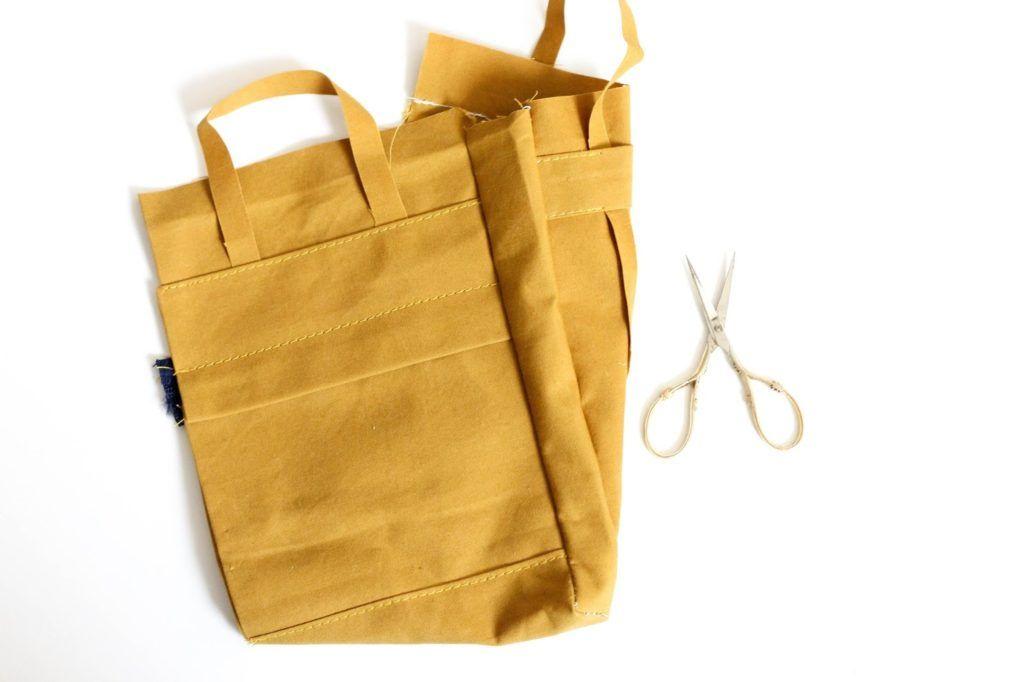 Tutorial de bolso de mano • Tutorial adicional para bolso de mochila • Hilo de marinero – hecho a mano  – Bolsa