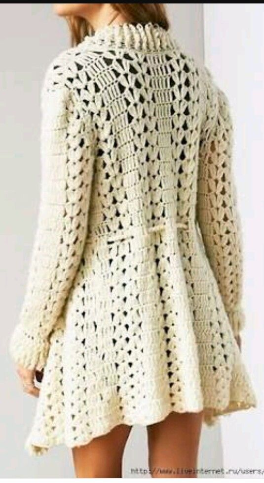 Pin by ana on BOLEROS + CHAQUETAS | Pinterest | Crochet, Crochet ...