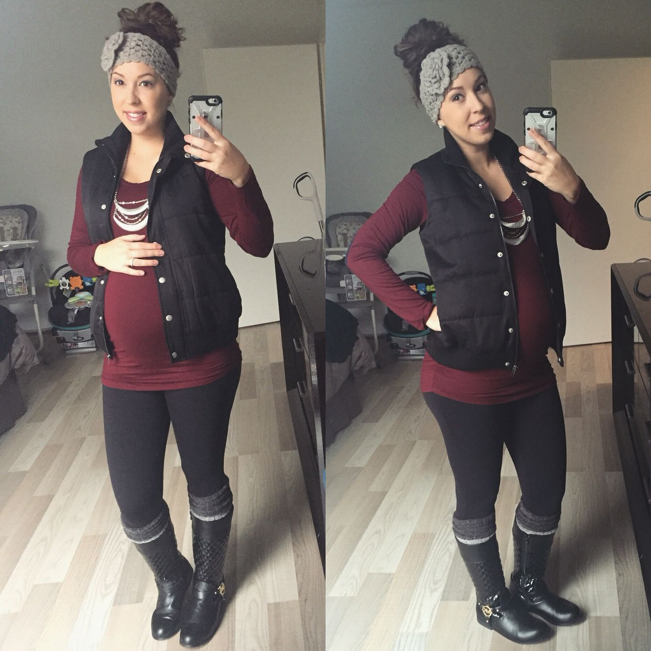 Thanks Tina! Stitch fix maternity! 6 months pregnant