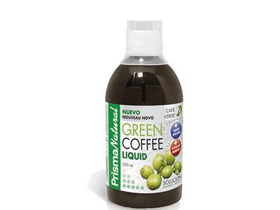 Green Coffee Liquid Prisma Natural Magnifico Complemento Alimenticio Destinado Al Control De Peso Es Café Verde Líquido Uno D Alimenticio Control De Peso Cafe