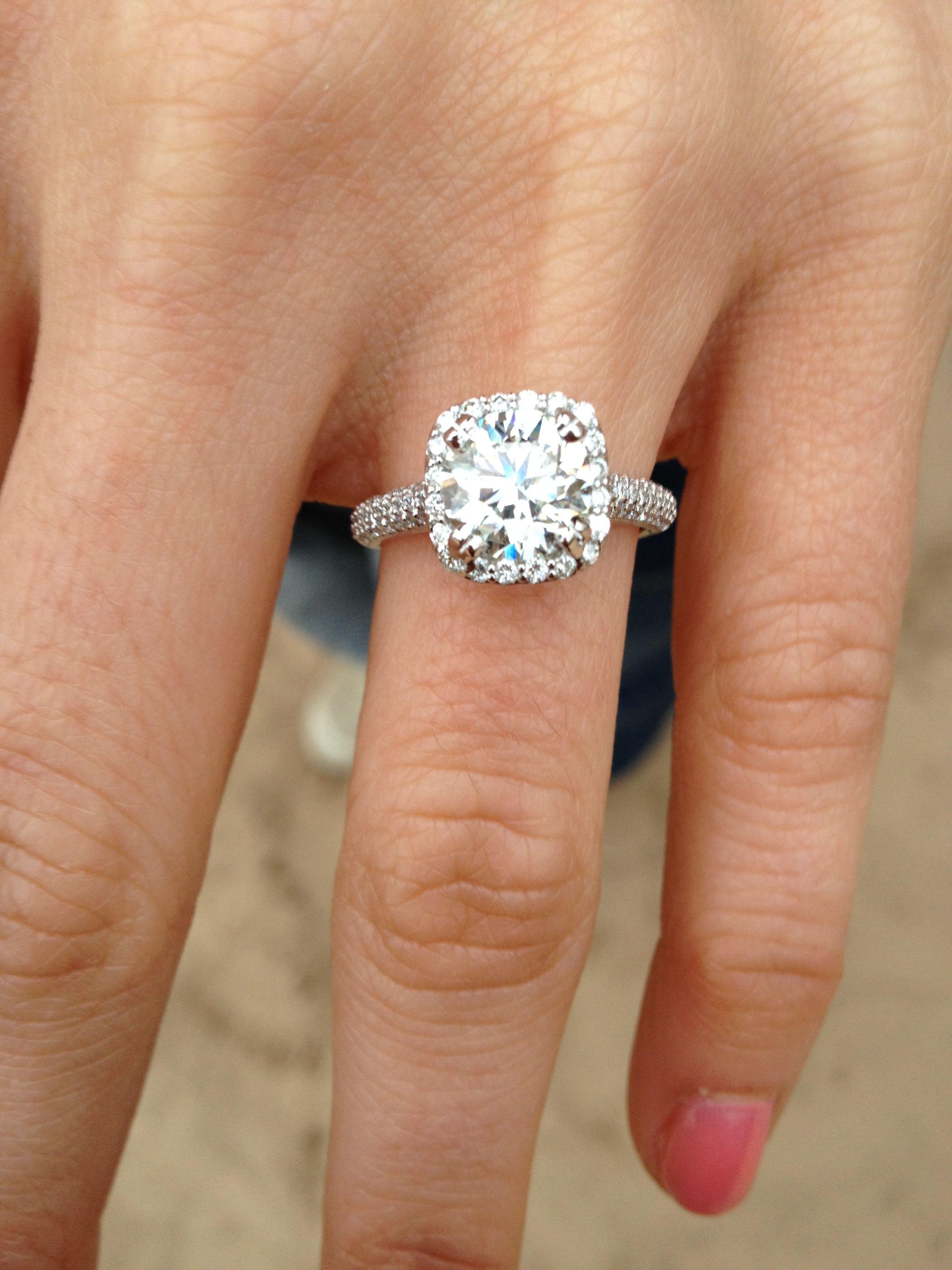 Engagement ring wedding engagement diamonds (With