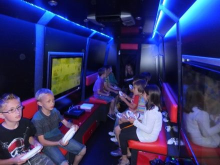 Games Wagon - T.V & Movie, Party Bus - T.V & Movie, Party Bus
