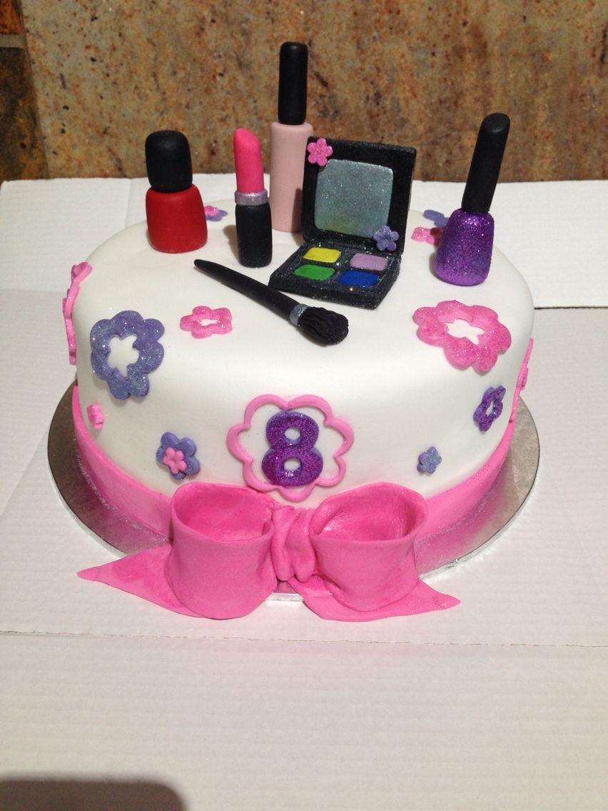 Kids Spa Party Cake