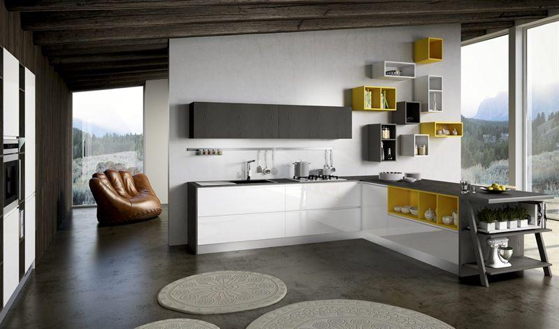 Cucina moderna MOON DUNA DIVA | Cucine moderne Arredo3 | Home Decor ...