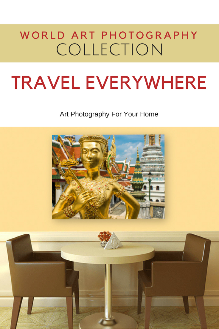Bangkok Grand Palace. Art Photography For Your Home. Museum Quality ...